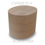 hat blocks australia Plain Oval Cylinder Crown top