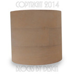 hat blocks australia Plain Oval Cylinder Crown side